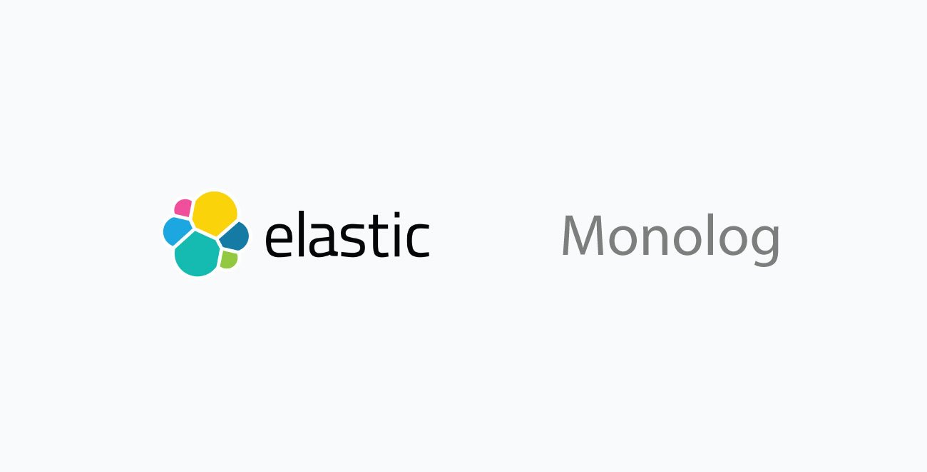 Monolog with Elasticsearch