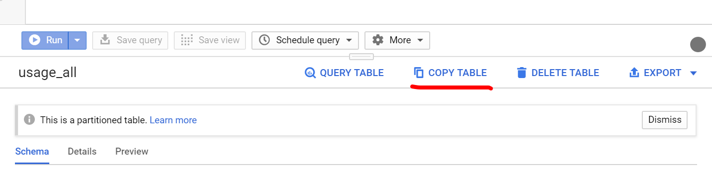 Copy BigQuery Dataset To Another Project at Once