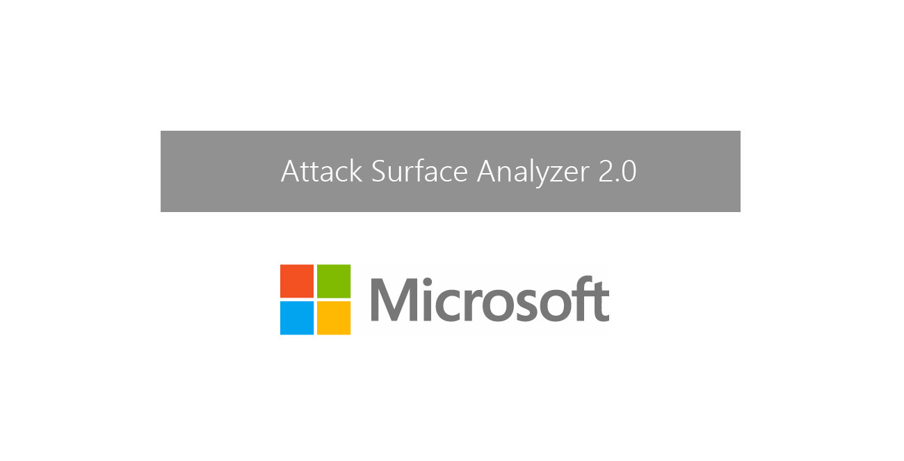Download attack surface analyzer 2.0